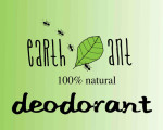 Earth Ant deodorant - 100% natural | Contains No aluminium, parabens, propylene glycol, or synthetic fragrances