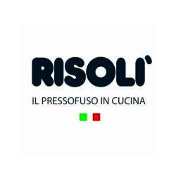 RISOLI - Cast Aluminium Cookware made in Italy which allows fat-free and toxic – Free cooking while protecting the environment.