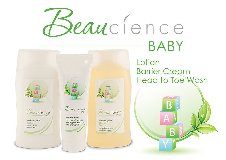 Beaucience Baby Wash Bum Cream and Head to Toe wash