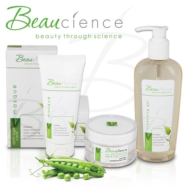 Beaucience Botanical Wash and face cream
