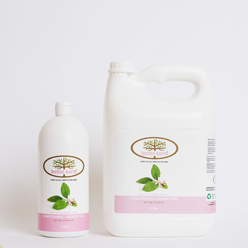 better earth bathroom laundry gel