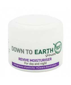 down to earth revive moisturiser organic product 2014
