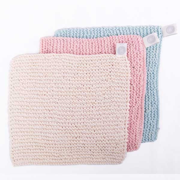 Elli wash cloth square