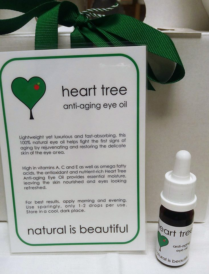 The Heart Tree anti aging eye oil