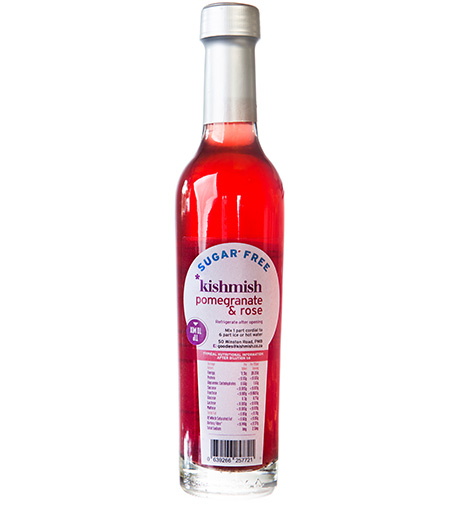 kishmish cordial pomegranate rose 1