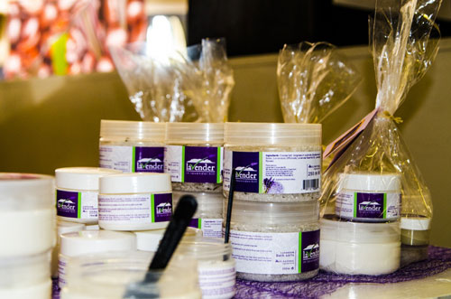 Lavender in Lavender Hill products
