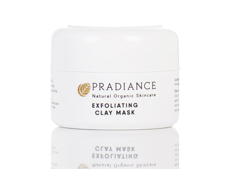 Exfoliating clay mask pradiance