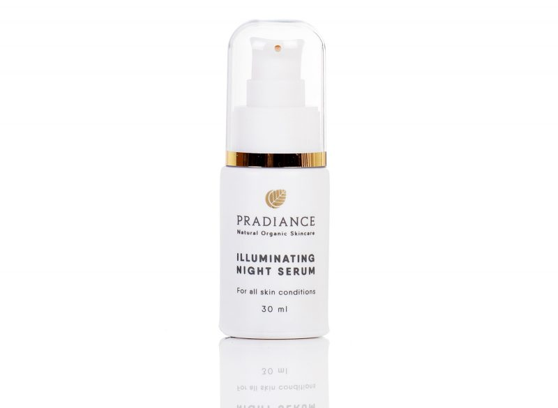 Illuminating night serum pradiance