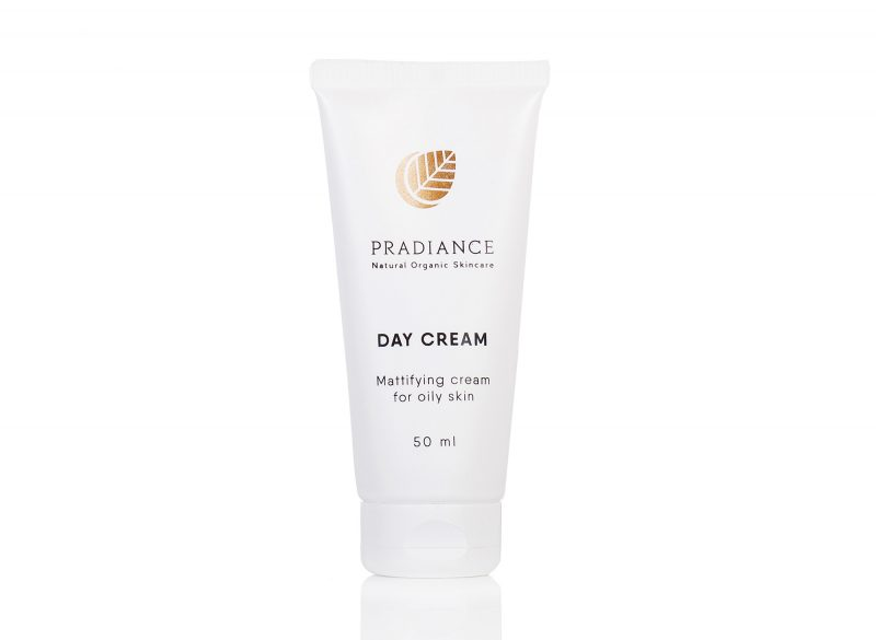 Mattifying day cream for oily skin pradiant