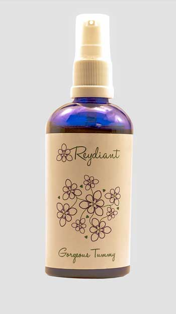 reydiant gorgeous tummy natural products for mommys and babies