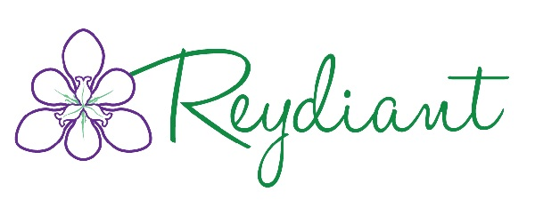 reydiant natural products for mommys and babies logo