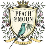 Peach & Moon Organics: Imported Dutch CBD oil and EU certified organic olive oil & essential oils produced in the Western Cape.